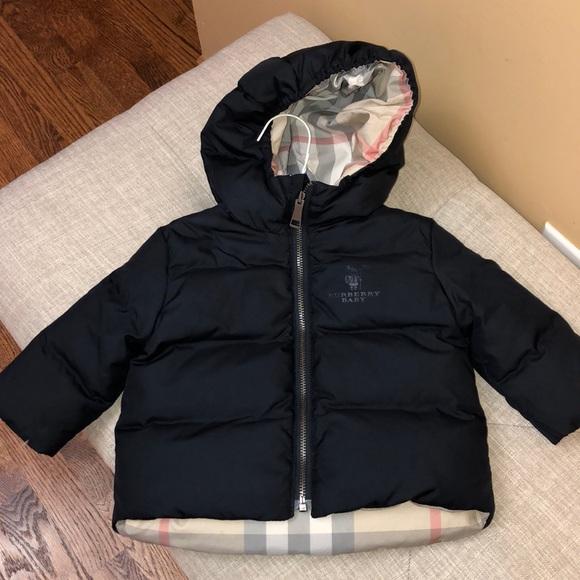 56e265430 Burberry Jackets & Coats | Super Cute Boys Puffer Coat | Poshmark
